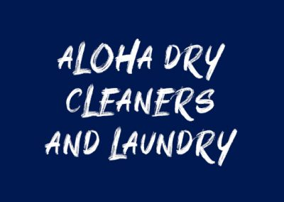 Website Redesign: Aloha Dry Cleaners and Laundry